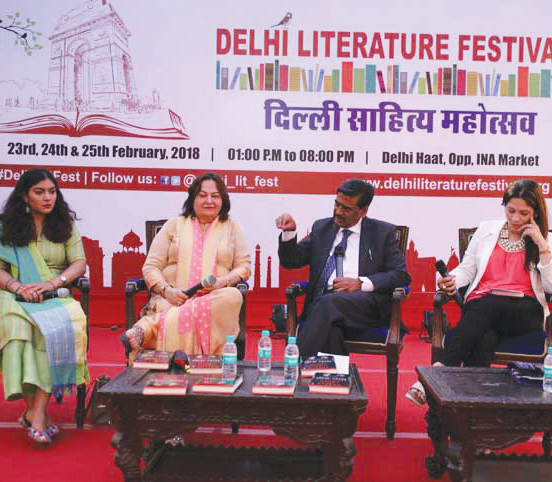 DLF lit up the Delhi Haat, INA