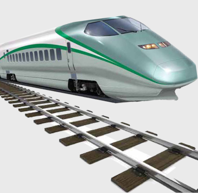 Education in India A bullet train on a broad gauge